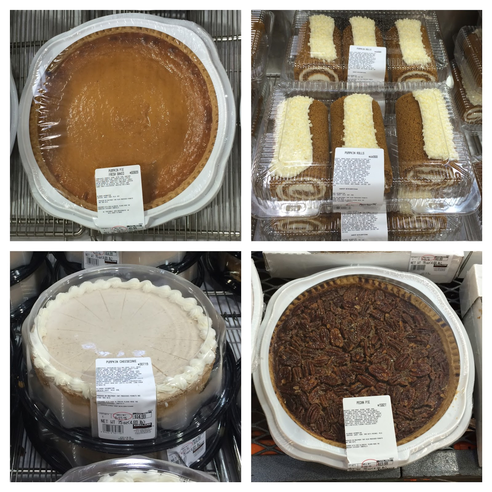 Costco Pies Thanksgiving  the Costco Connoisseur Thanksgiving with Costco