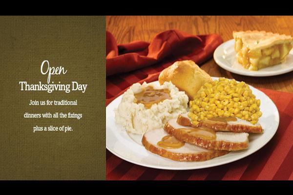 Cracker Barrel Thanksgiving Dinner To Go Price  Thanksgiving Day 2017 Restaurants Open Boston Market