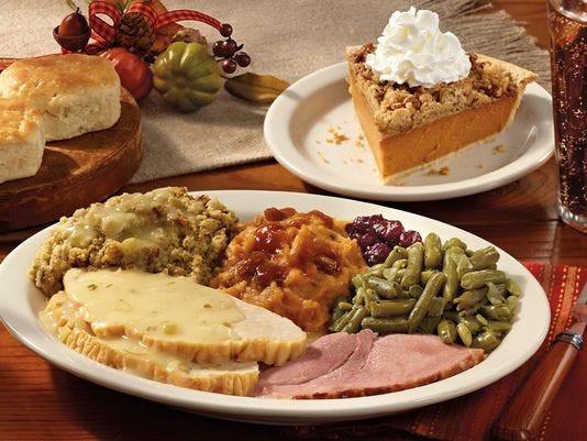 Cracker Barrel Thanksgiving Dinner To Go Price  Where to dine out for Thanksgiving dinner in Shreveport