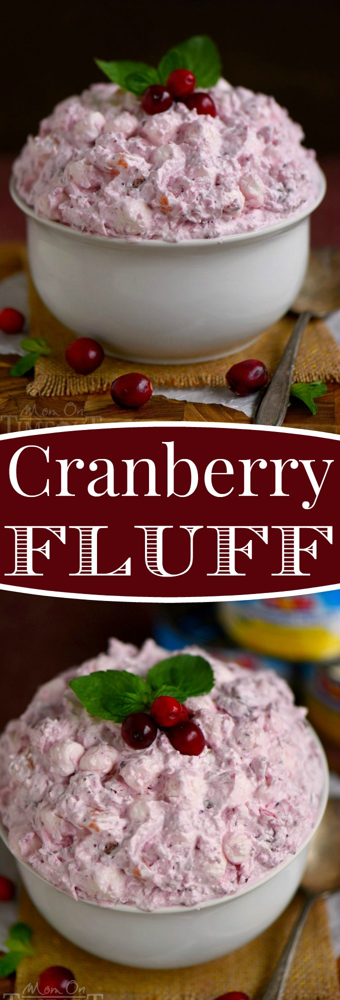 Cranberry Desserts For Thanksgiving  Easy Cranberry Fluff Mom Timeout