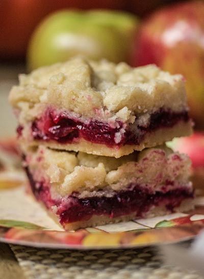 Cranberry Desserts For Thanksgiving  Cranberry Apple Shortbread Bars