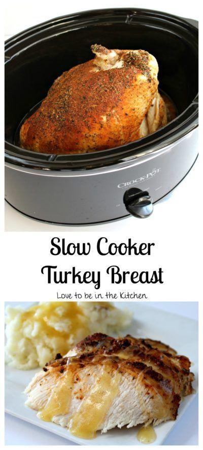 Crock Pot Turkey Recipes For Thanksgiving  Best 25 Slow cooker turkey ideas on Pinterest