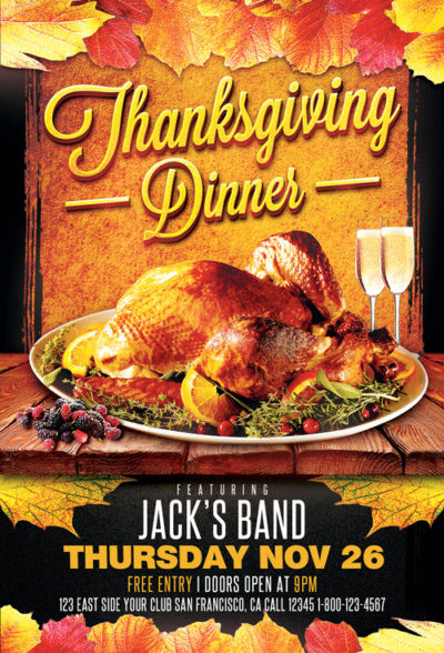 Cub Foods Thanksgiving Dinners  Thanksgiving Flyers Download flyer templates for party