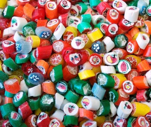Cut Rock Christmas Candy  33 best images about Christmas Chocolate & Candy on