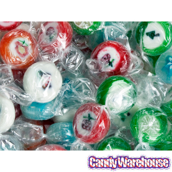 Cut Rock Christmas Candy  Old Fashioned Cut Rock Candy Assortment 5LB Bag