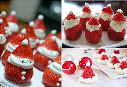 Cute Easy Christmas Desserts  cute desserts Christmas Pinterest