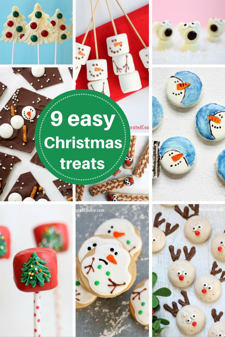 Cute Easy Christmas Desserts  roundup 9 EASY Christmas treat ideas