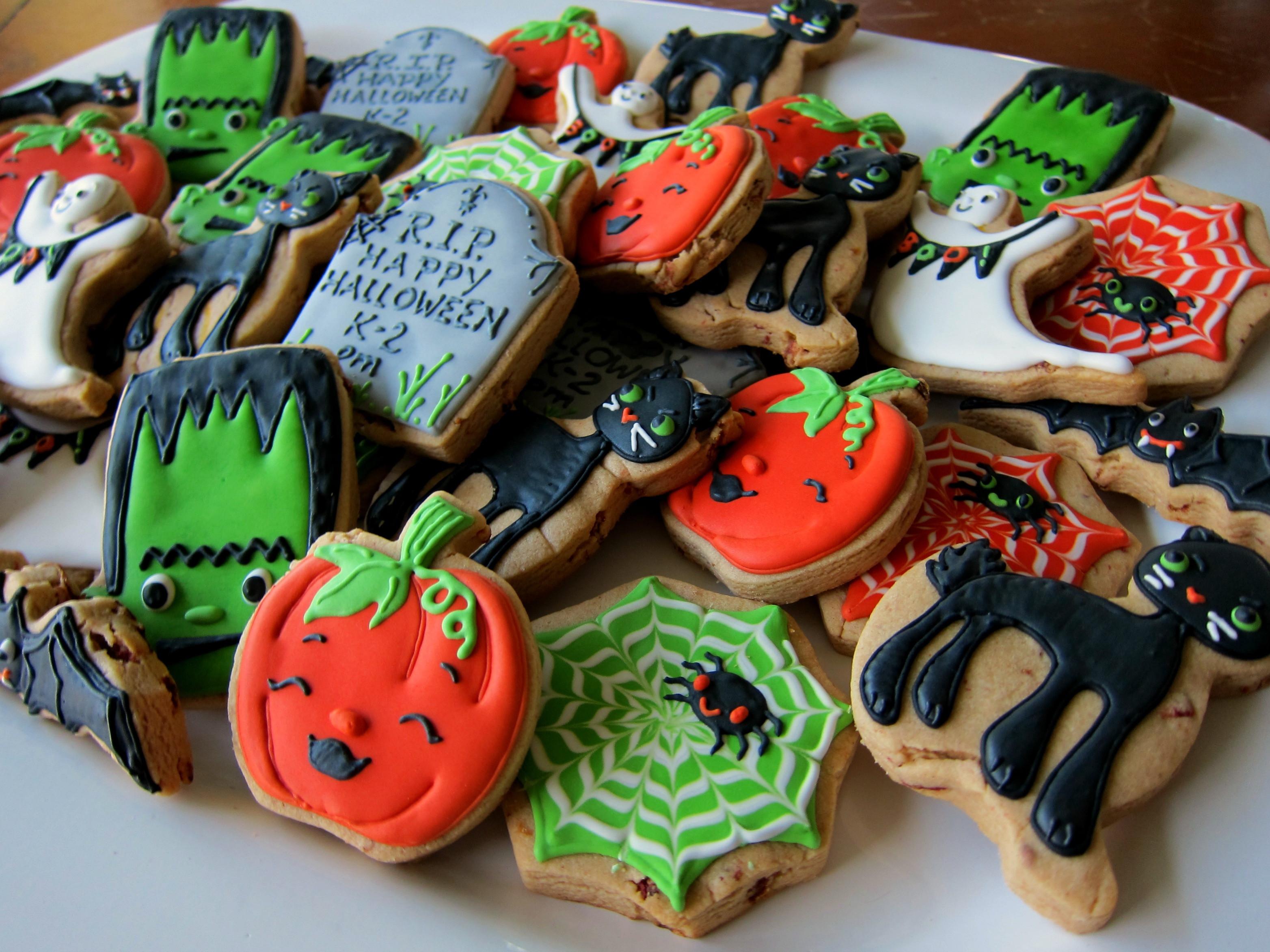 Cute Halloween Cookies  Cute Halloween Sugar Cookies s and