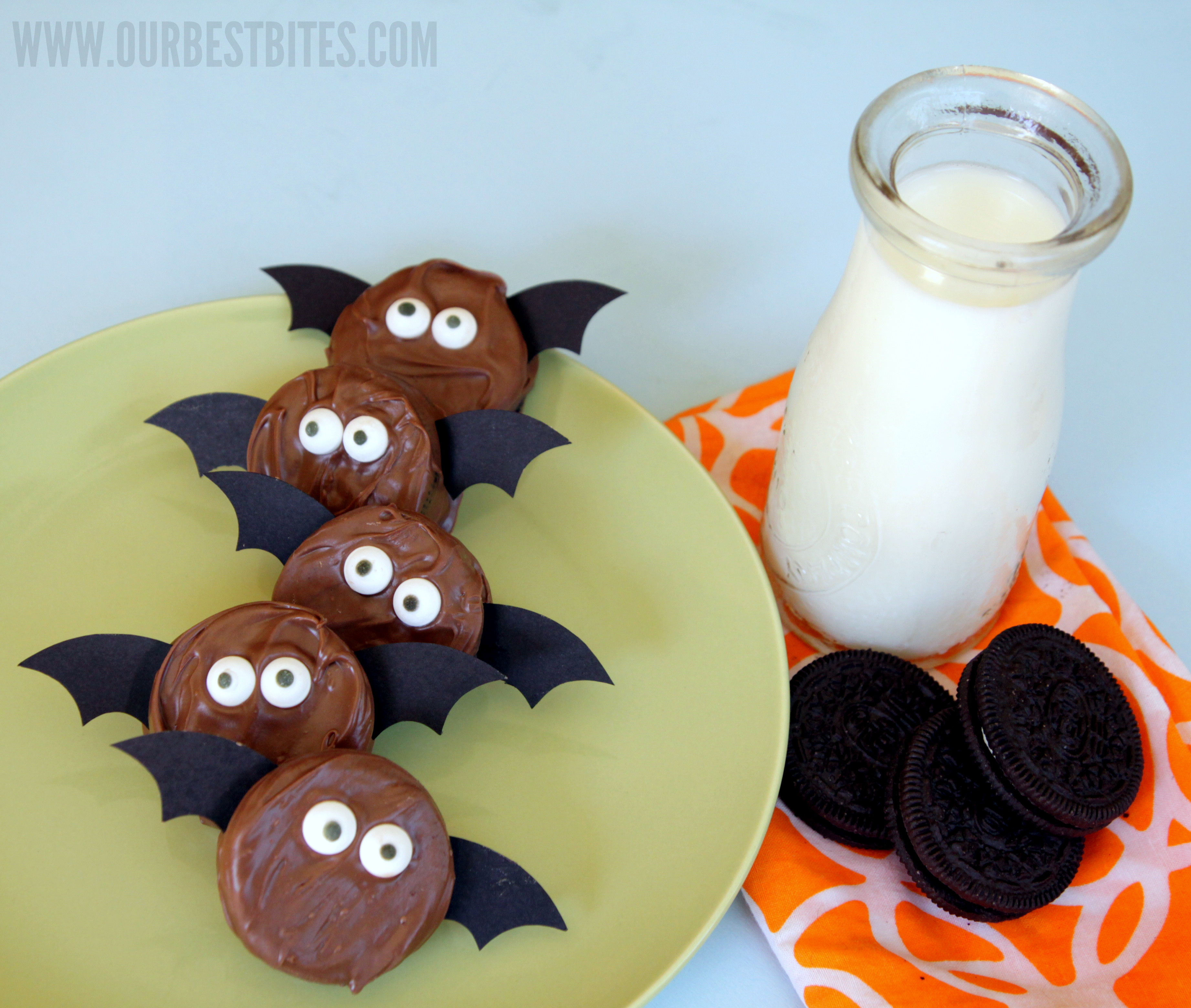 Cute Halloween Cookies  Not So Spooky Oreo Bats