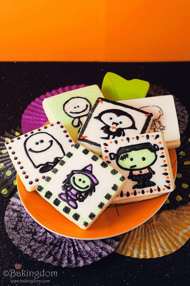 Cute Halloween Cookies  cute Halloween cookies Halloween