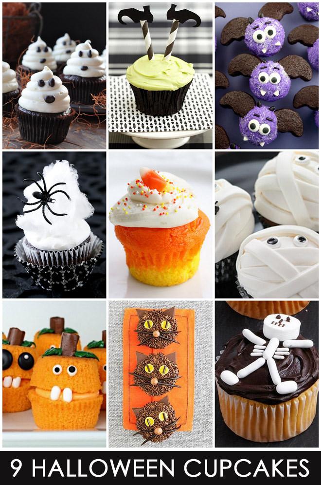 Cute Halloween Cupcakes  9 Easy & Cute Halloween Cupcakes