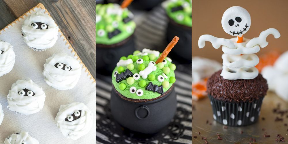 Cute Halloween Cupcakes  31 Cute Halloween Cupcakes Easy Recipes for Halloween