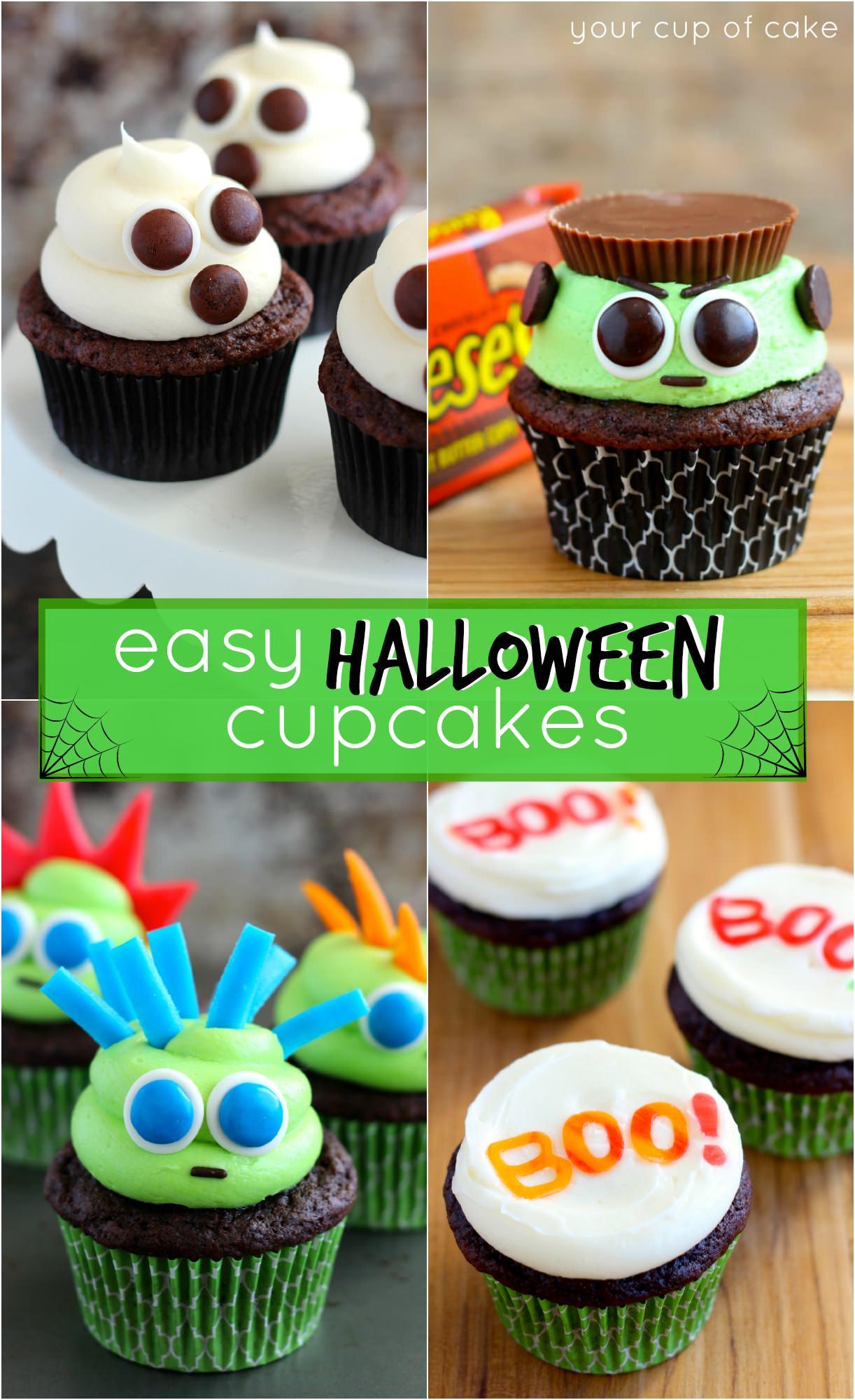 Cute Halloween Cupcakes  Easy Halloween Cupcake Ideas Your Cup of Cake