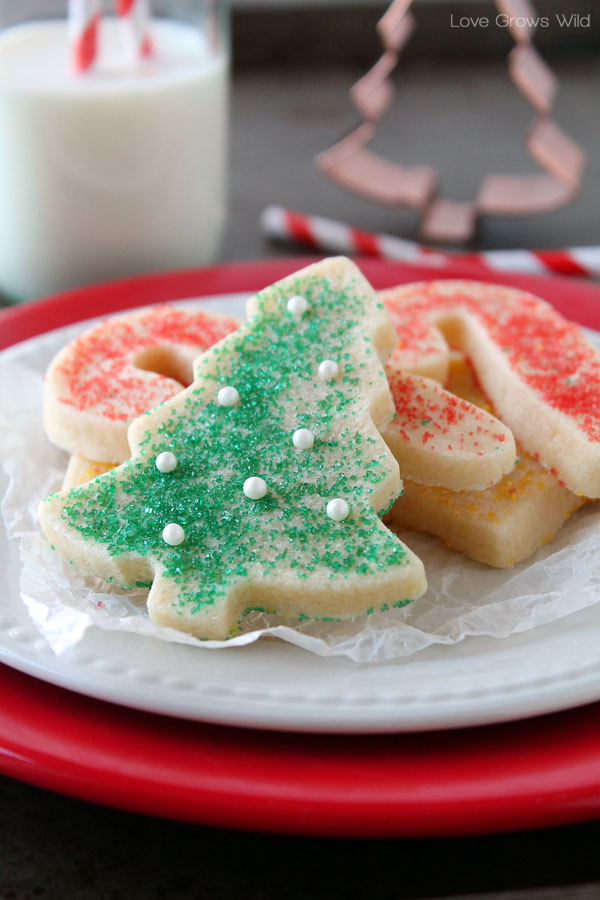 Cutout Christmas Cookies  25 more Christmas cookie exchange recipes