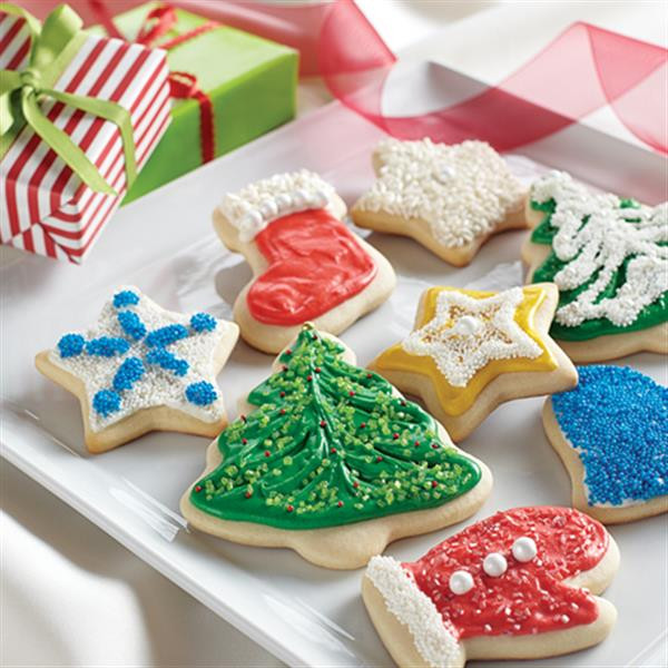 Cutout Christmas Cookies  Holiday Cut Out Cookies