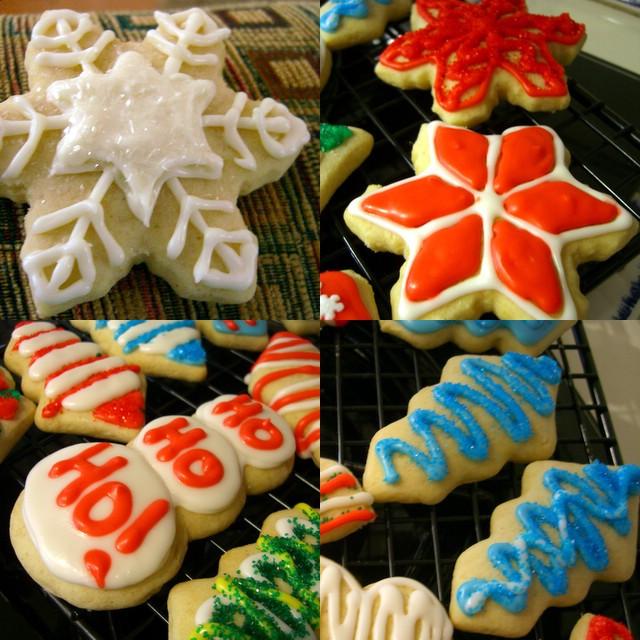 Cutout Christmas Cookies  Soft Cutout Christmas Cookies Baking Bites