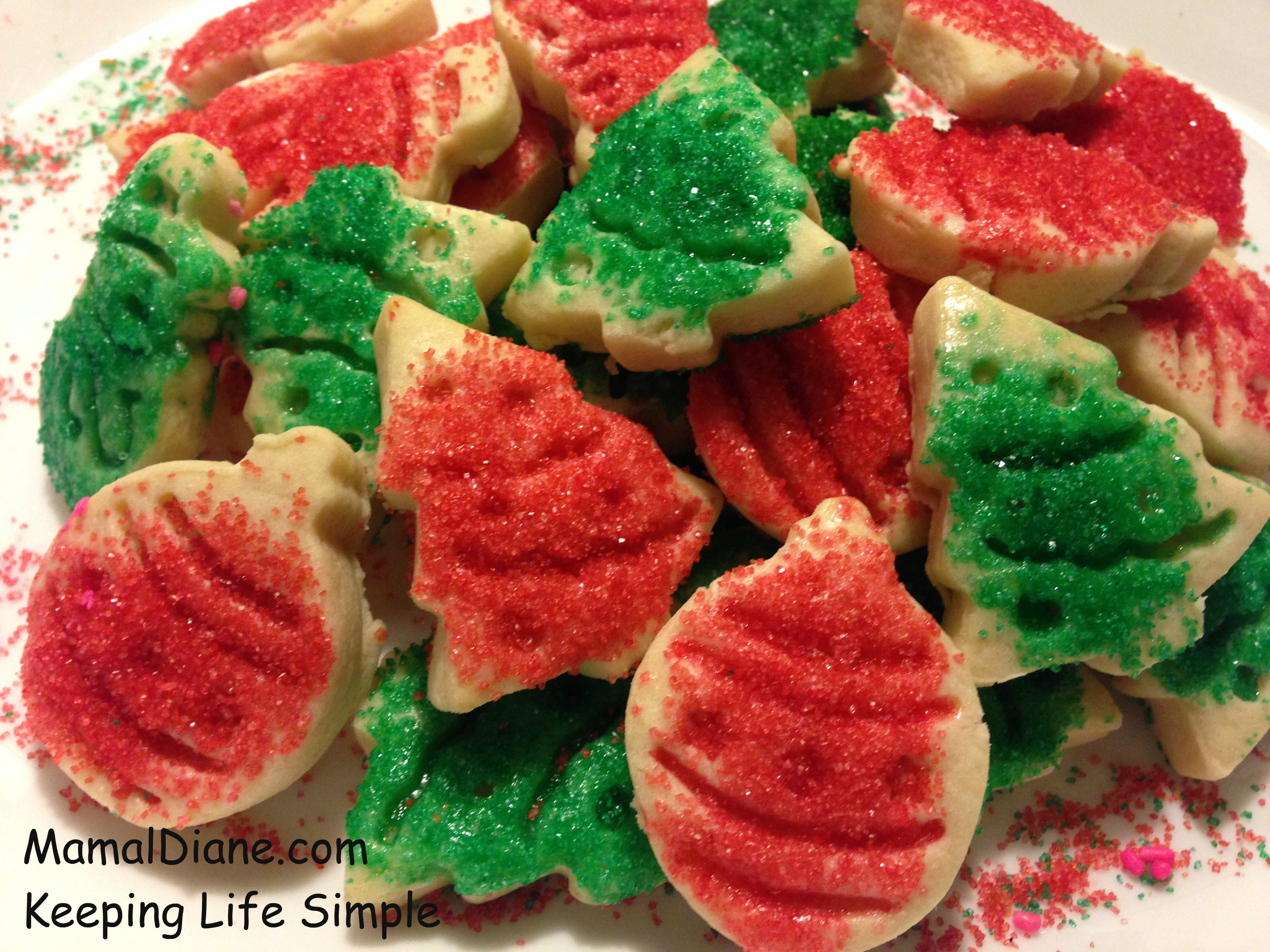 Cutout Christmas Cookies  Cut out Holiday Butter Cookies – Mamal Diane