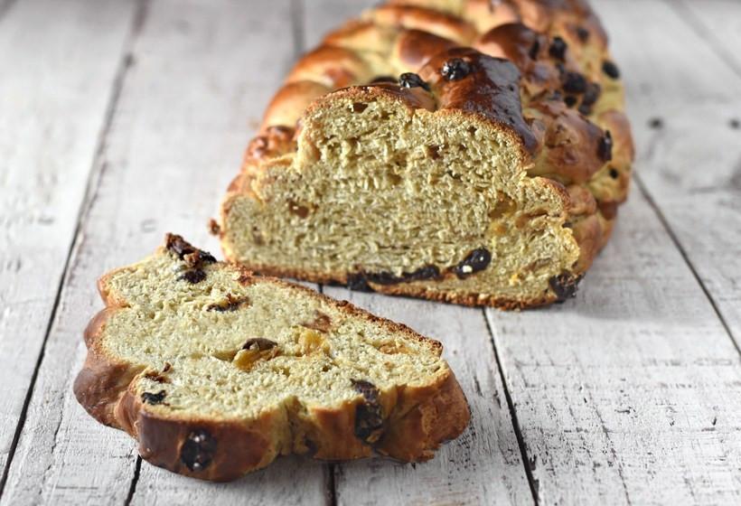 Czech Christmas Bread  Vánočka Czech Christmas Bread
