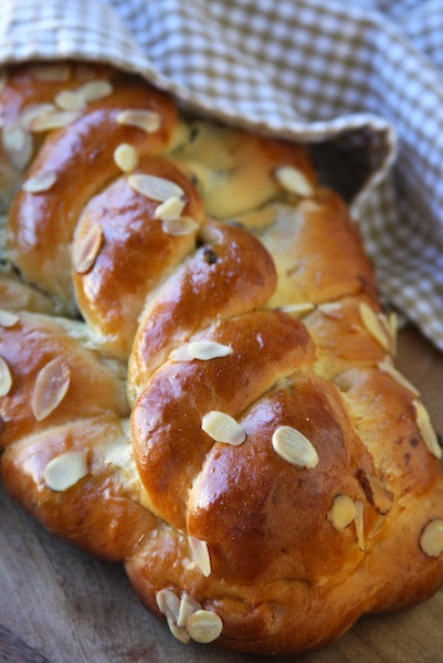 Czech Christmas Bread  Vanocka – Traditional Czech Sweet Bread