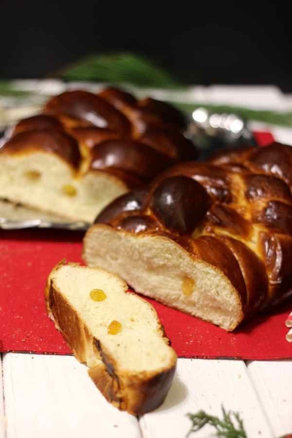 Czech Christmas Bread  Vanocka Traditional Czech Recipe 196 flavors