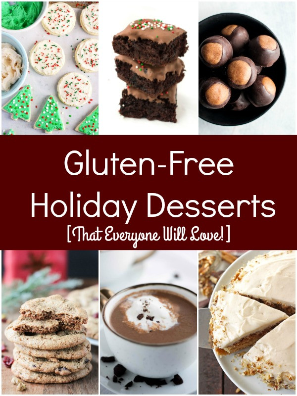 Dairy Free Christmas Desserts  Gluten Free Holiday Desserts That Everyone Will Love