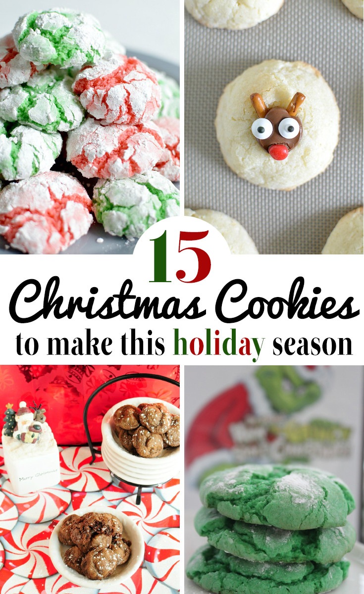 Delicious Christmas Cookies  15 Delicious Christmas Cookie Recipes Outnumbered 3 to 1