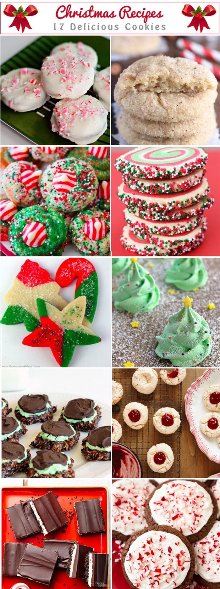 Delicious Christmas Cookies  Easy Italian Recipes – The best Italian recipes easy to