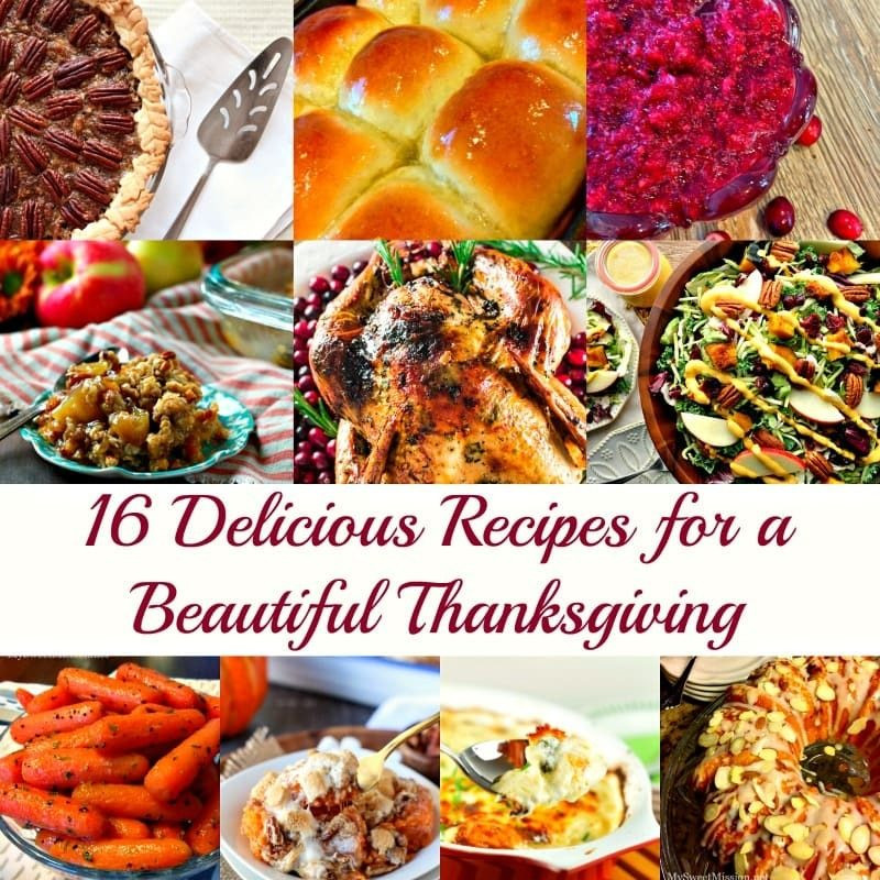 Delicious Turkey Recipes For Thanksgiving  16 Delicious Recipes for a Beautiful Thanksgiving My
