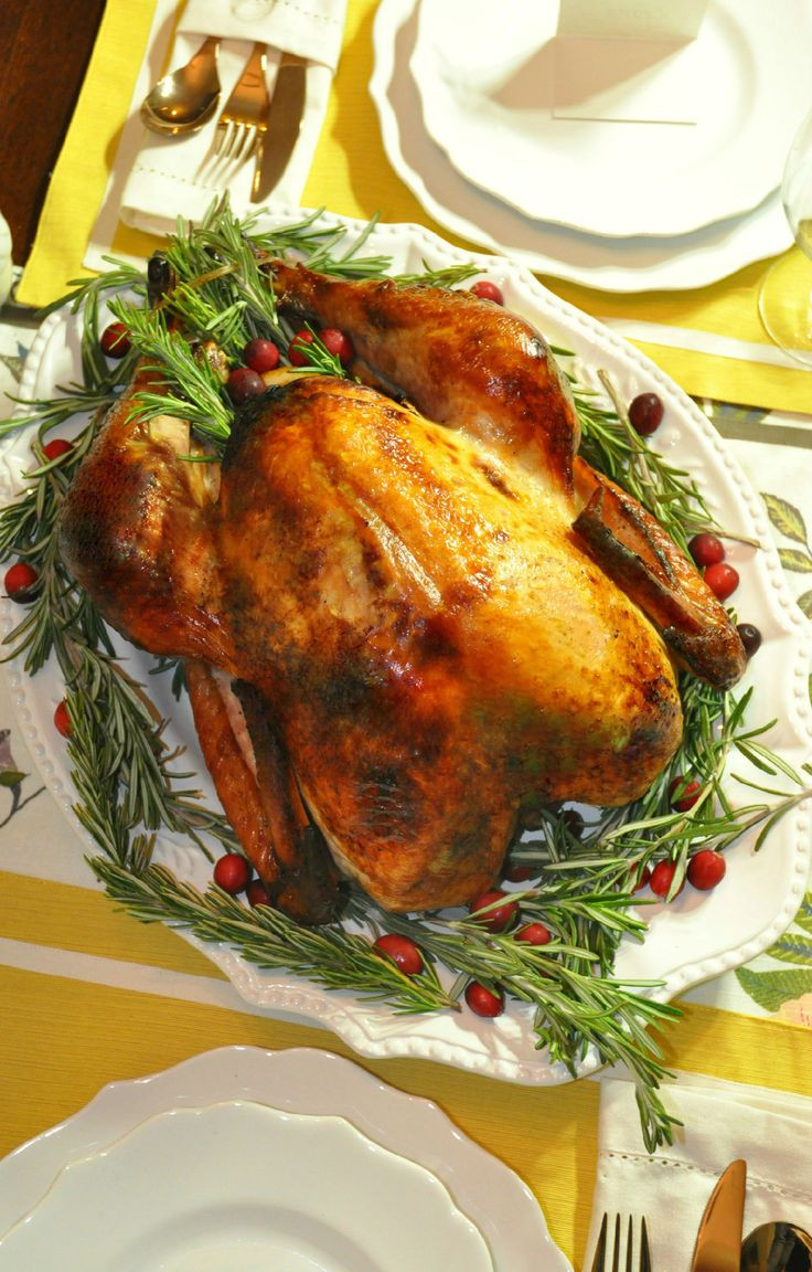 Delicious Turkey Recipes For Thanksgiving  Delicious moist Thanksgiving turkey brined with Wish Bone