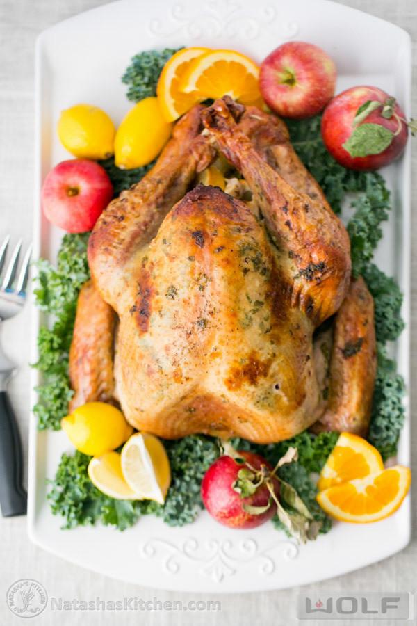 Delicious Turkey Recipes For Thanksgiving  Delicious Juicy Roast Turkey Recipe
