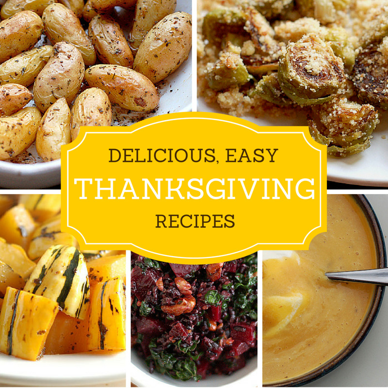 Delicious Turkey Recipes For Thanksgiving  Delicious Easy Thanksgiving Recipes