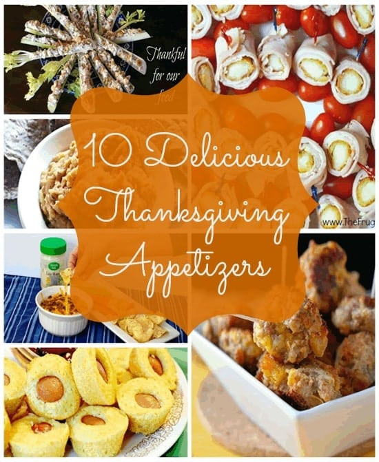 Delicious Turkey Recipes For Thanksgiving  10 Delicious Thanksgiving Appetizer Recipes