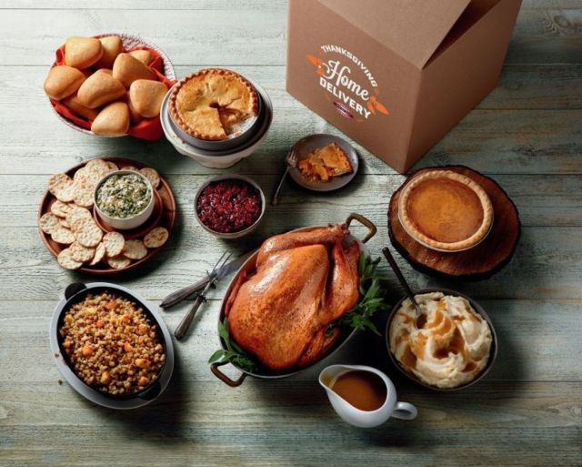 Delivered Thanksgiving Dinners  Boston Market fers New Thanksgiving Home Delivery