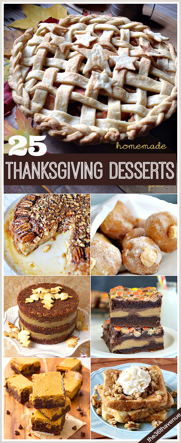 Desserts To Make For Thanksgiving  25 Thanksgiving Recipes Desserts and Treats The 36th