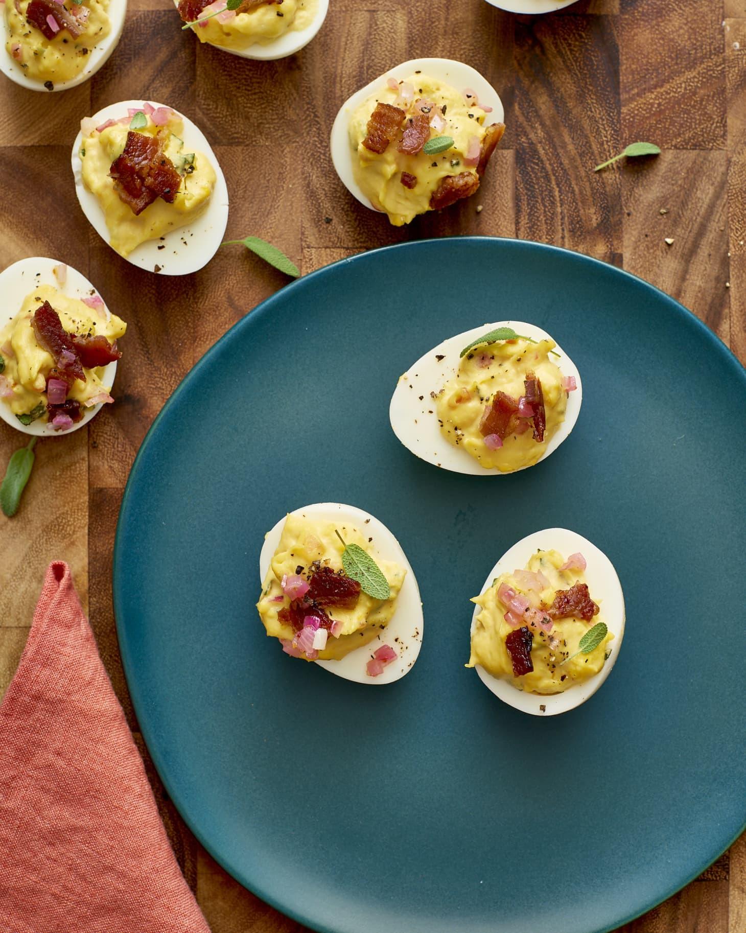 Deviled Eggs For Thanksgiving  Thanksgiving Deviled Eggs