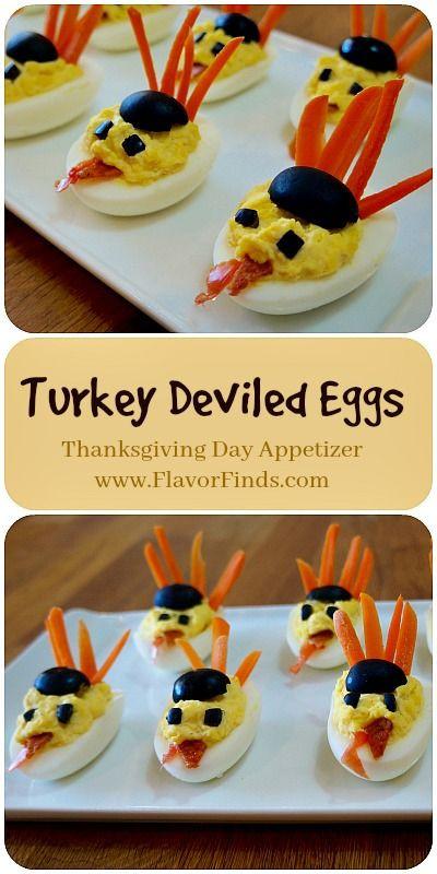 Deviled Eggs For Thanksgiving  Best 25 Turkey deviled eggs ideas on Pinterest