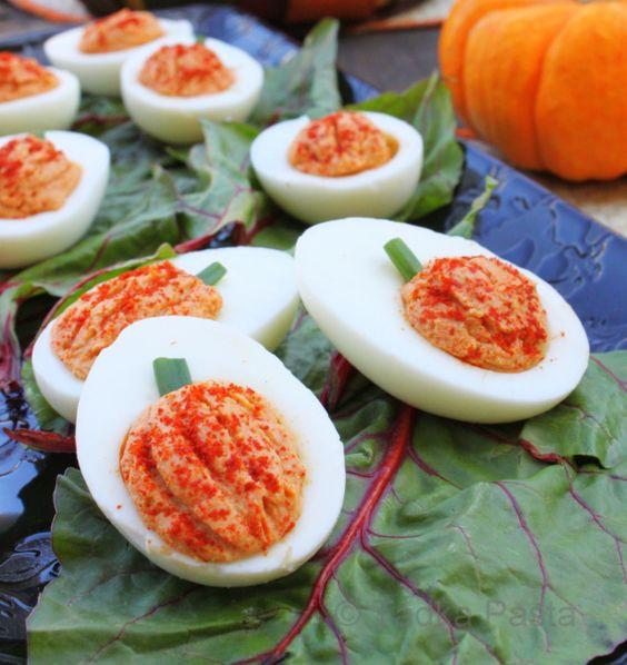 Deviled Eggs For Thanksgiving  Eggs quisite Eats for Li l Devils Recipe