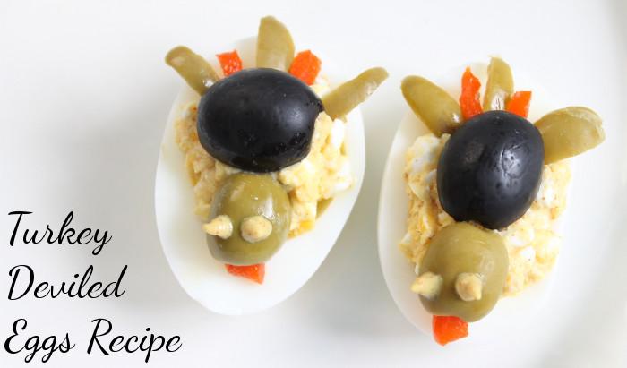 Deviled Eggs For Thanksgiving  Turkey Deviled Eggs Recipe MomStart