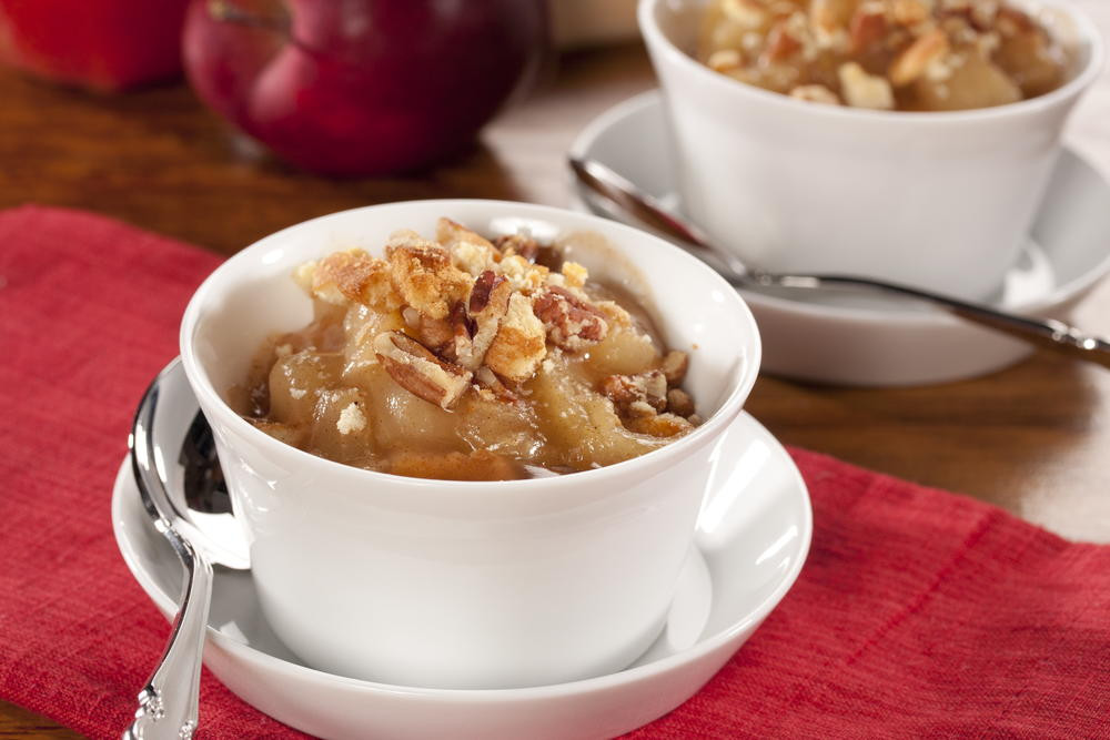 Diabetic Desserts For Thanksgiving  Apple Cinnamon Crunch Cups