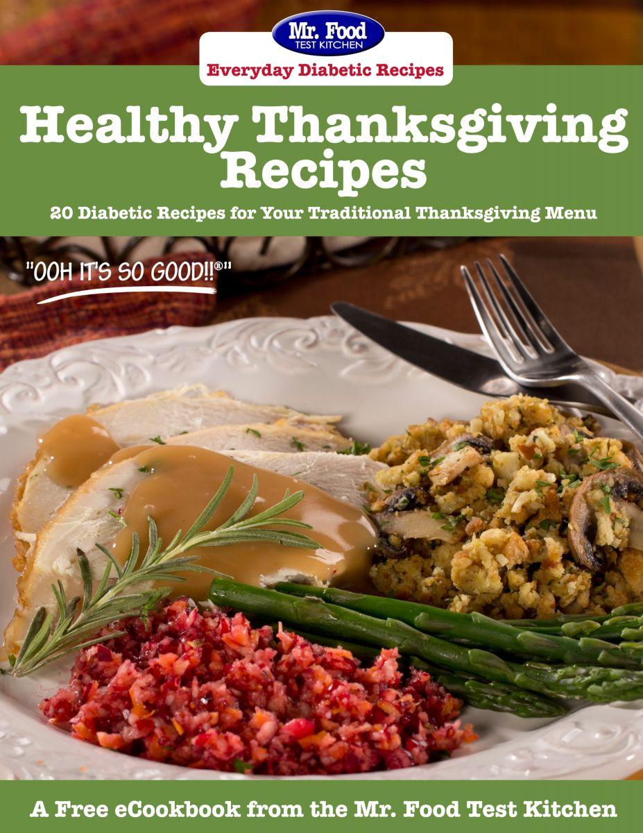 Diabetic Thanksgiving Dinners  Latest Free Recipe eCookbooks