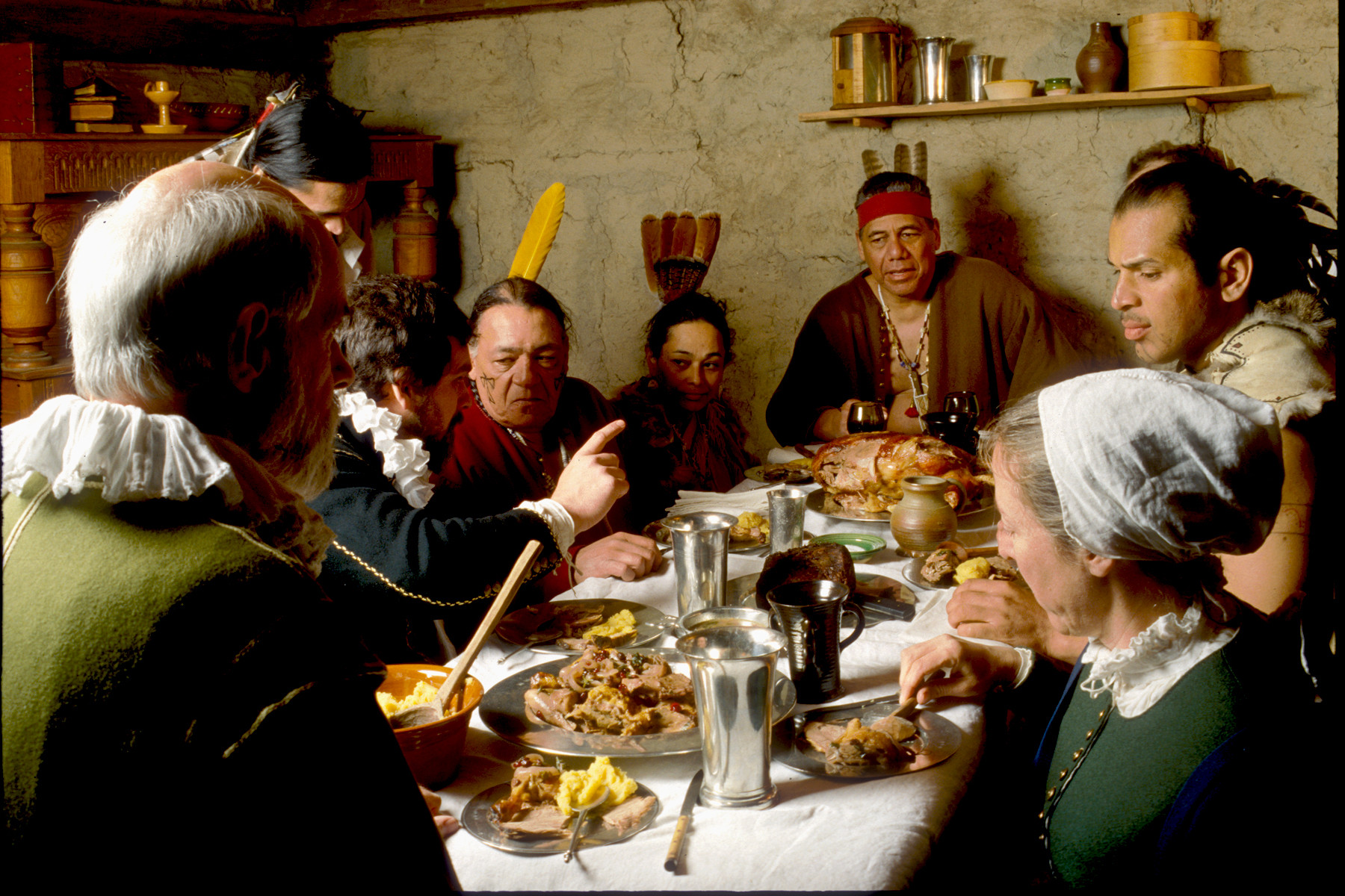 Did The Pilgrims Eat Turkey On Thanksgiving  New York News Publishers Association Newspaper In