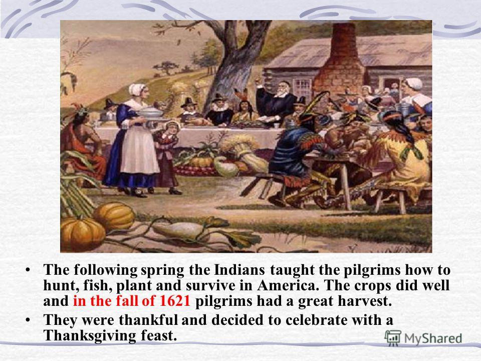 "Did The Pilgrims Eat Turkey On Thanksgiving  Презентация на тему ""Thanksgiving Day in America There"