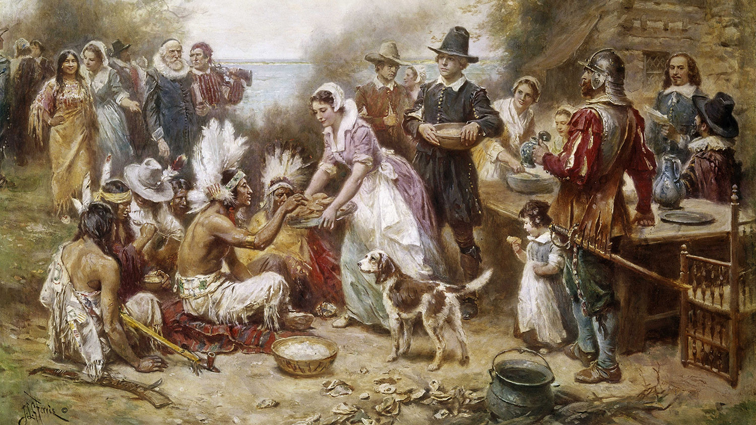Did The Pilgrims Eat Turkey On Thanksgiving  The First Thanksgiving