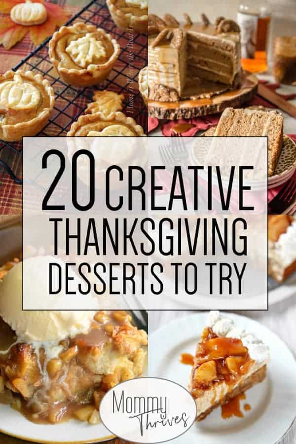 Different Thanksgiving Desserts  20 Delicious and Unique Thanksgiving Desserts Mommy Thrives
