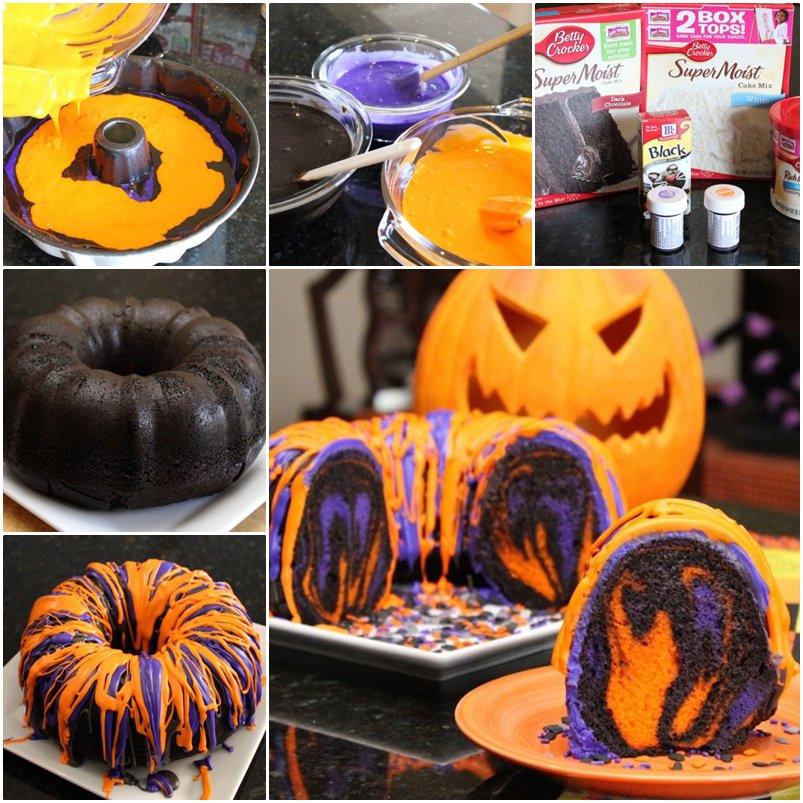 Diy Halloween Cakes  DIY Amazing Halloween Rainbow Party Bundt Cake