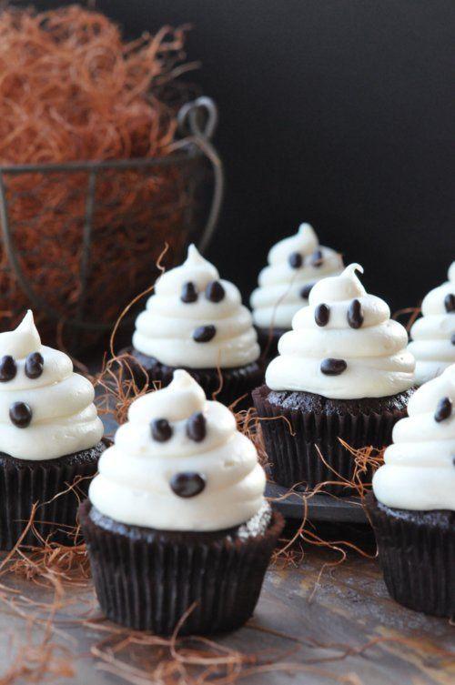 Diy Halloween Cakes  Ghost Cupcakes