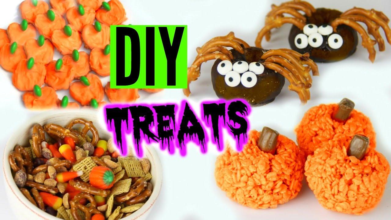 Diy Halloween Desserts  DIY Halloween Treats 2015 Yummy Pinterest Inspired