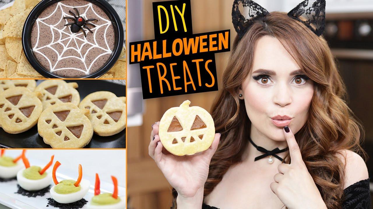 Diy Halloween Desserts  DIY HALLOWEEN TREATS