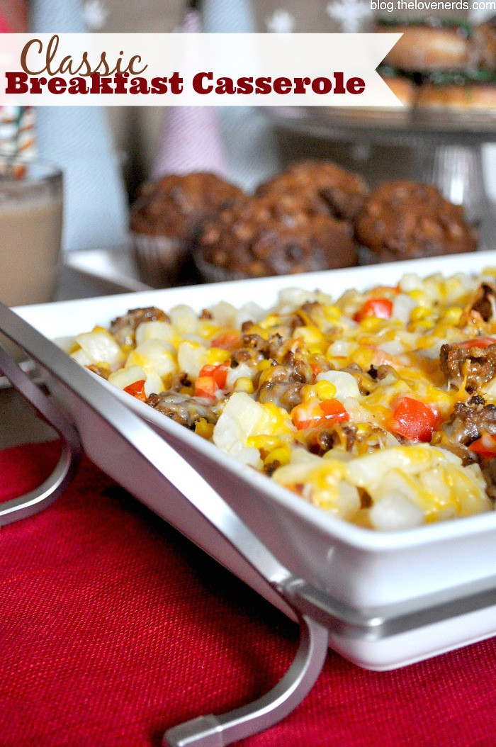 Easy Christmas Breakfast Casseroles  Host an Easy Holiday Brunch with My Classic Breakfast