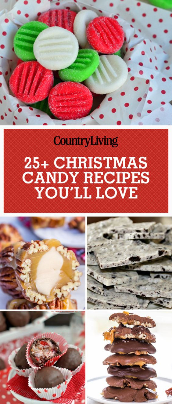 Easy Christmas Candy Recipes For Gifts  45 Easy Christmas Candy Recipes Ideas for Homemade